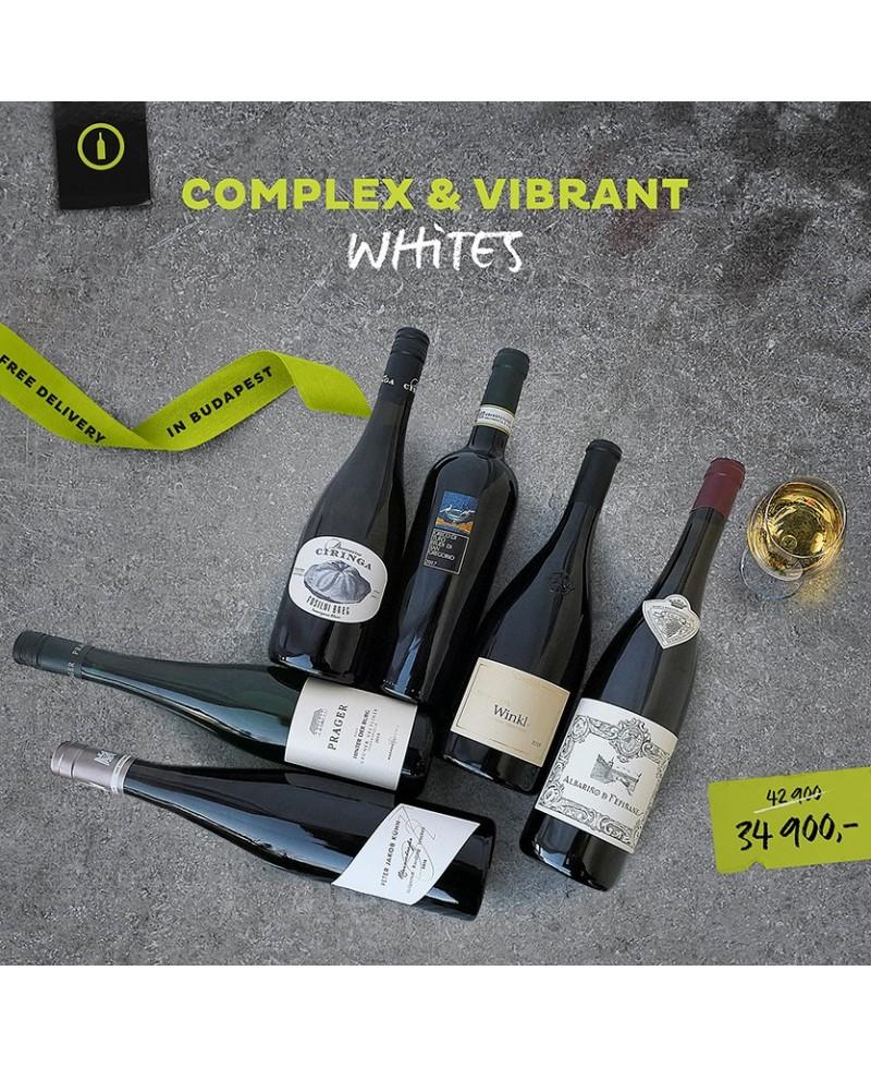 Borcsomag - Complex & Vibrant Whites