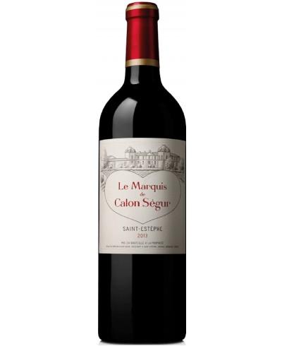 Marquis de Calon Ségur 2013