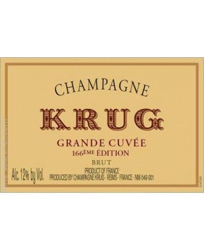 Krug Grande Cuvee 166éme Edition