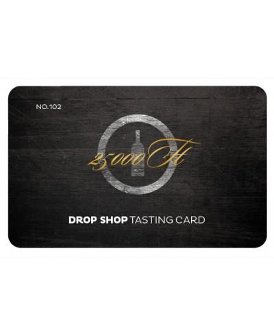 Tasting Card 25000