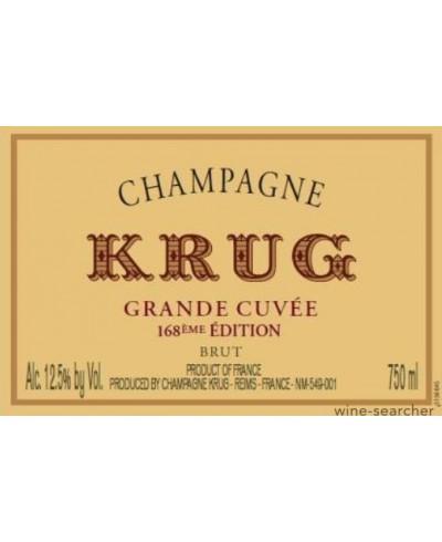 Krug Grande Cuvee 168th Edition NV