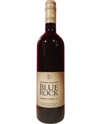 "Murdoch James ""Blue Rock"" Cabernet Franc 2013"