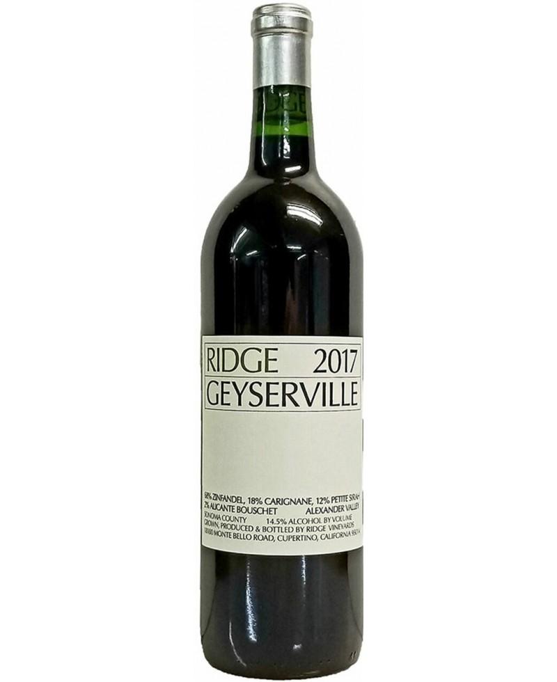 "Ridge Vineyards ""Geyserville"" Alexander Valley Zinfandel 2017"